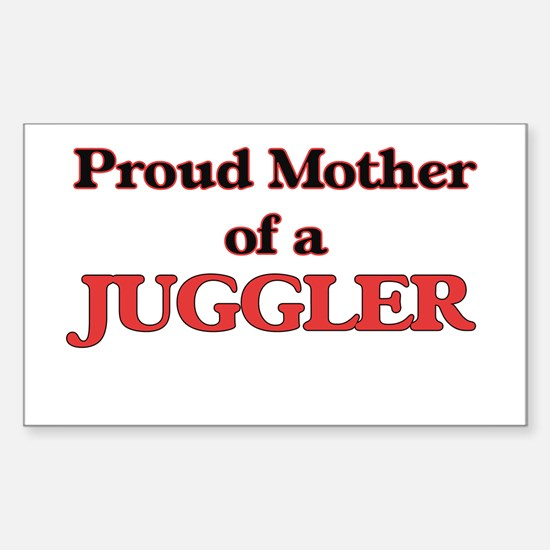 Proud Mother of a Juggler Decal