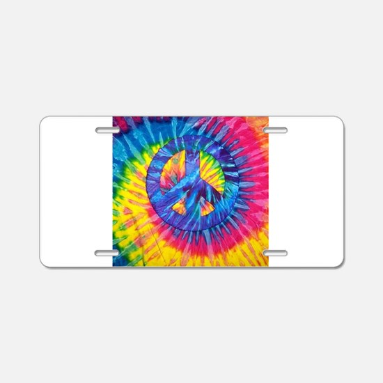 Peace Sign Hippie Hippy Psy Aluminum License Plate