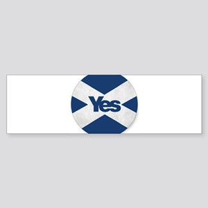 Yes to an Indepedent Scotland 'Saor Bumper Sticker