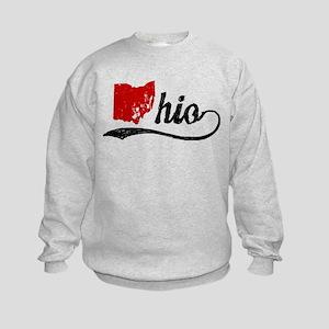 Ohio Script Kids Sweatshirt