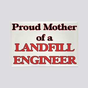 Proud Mother of a Landfill Engineer Magnets