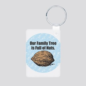 Family Tree Nuts Keychains