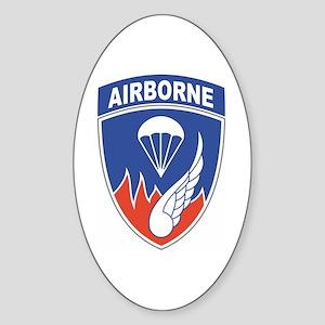 187th Infantry Regiment Oval Sticker