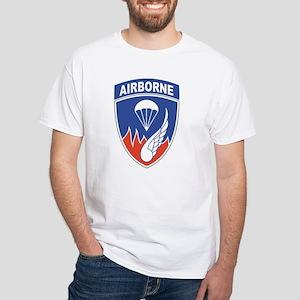 187th Infantry Regiment White T-Shirt