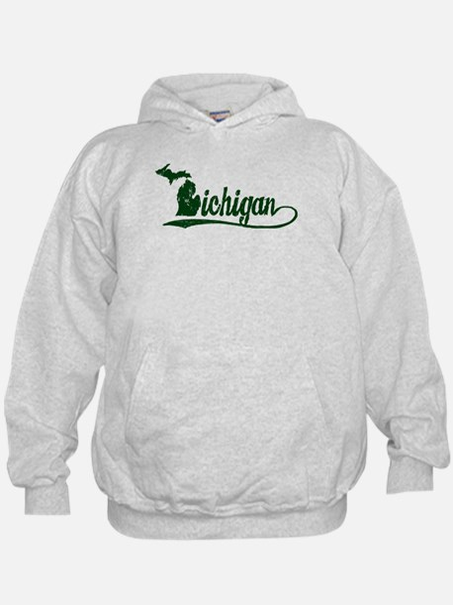 Michigan Script Hoody