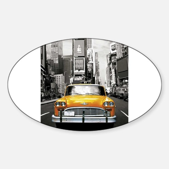 I LOVE NYC - New York Taxi Decal