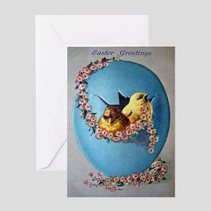 Easter Greetings 1909 Greeting Cards