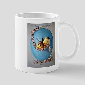 Easter Greetings 1909 Mugs