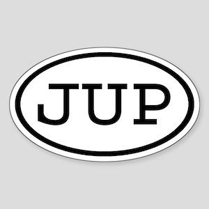 JUP Oval Oval Sticker