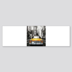 I LOVE NYC - New York Taxi Bumper Sticker