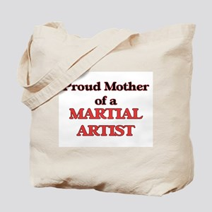 Proud Mother of a Martial Artist Tote Bag