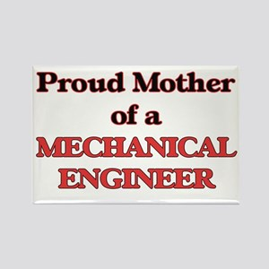 Proud Mother of a Mechanical Engineer Magnets