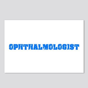 Ophthalmologist Blue Bold Postcards (Package of 8)