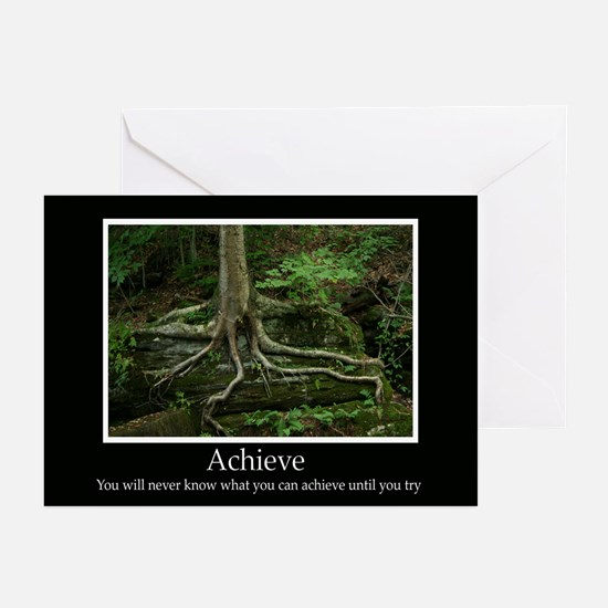 Achieve Inspiring Decor Greeting Cards (Pk of 10)