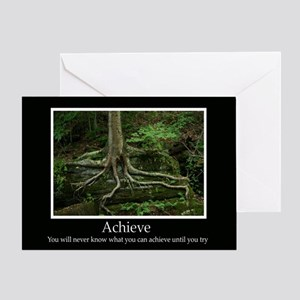 Achieve Inspiring Decor Greeting Card