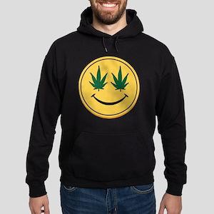 Smiley Face Hoodie (dark)