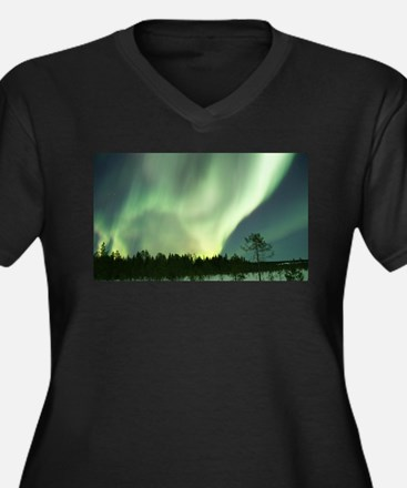 Northern Lights Plus Size T-Shirt