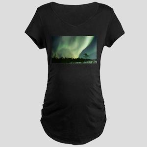 Northern Lights Maternity T-Shirt