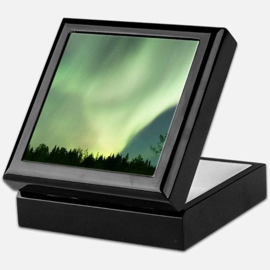 Northern Lights Keepsake Box