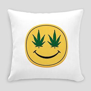 Smiley Face Everyday Pillow