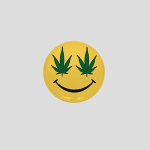 Smiley Face Mini Button