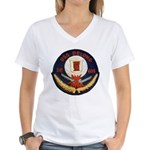 USS DELONG Women's V-Neck T-Shirt