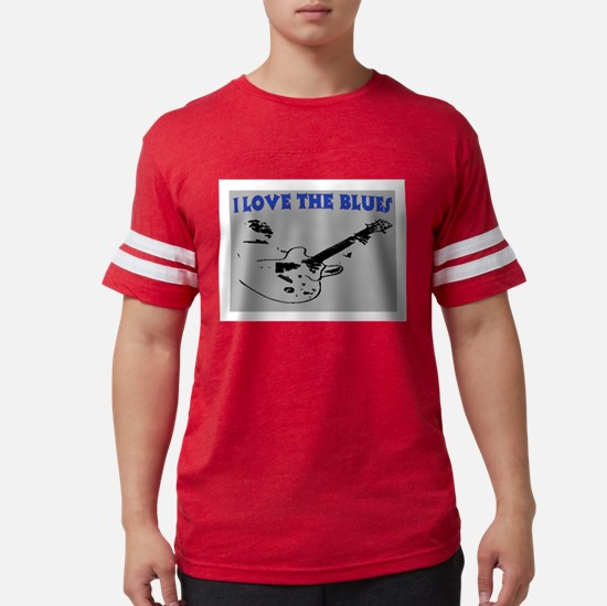 I LOVE THE BLUES T-Shirt