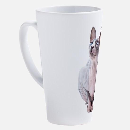 Cute Sphinx 17 oz Latte Mug