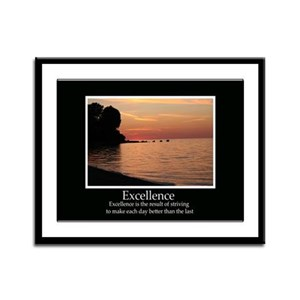 Excellence Decor Framed Panel Print