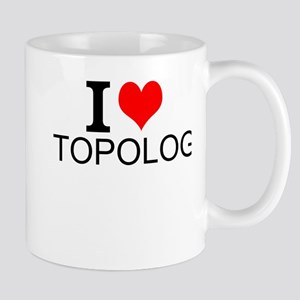 I Love Topology Mugs