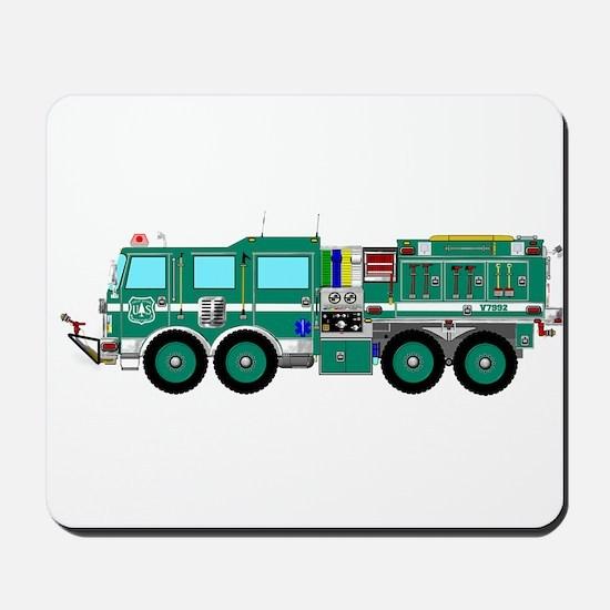 Fire Truck - Concept wild land fire truc Mousepad