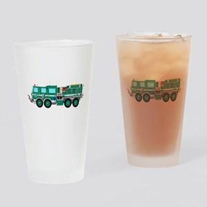Fire Truck - Concept wild land fire Drinking Glass