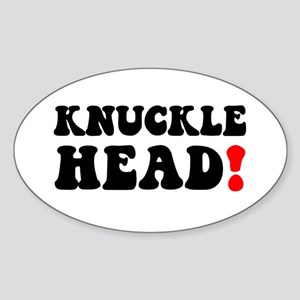 KNUCKLE HEAD! Sticker