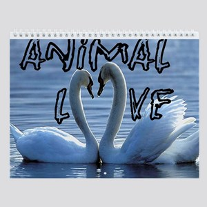 Animals In Love Wall Calendar