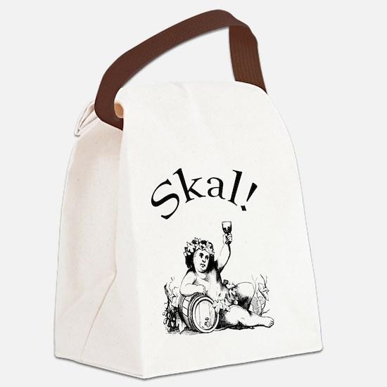 Skal Swedish Toast Canvas Lunch Bag