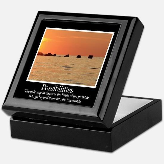 Possibilities Sunset Keepsake Box