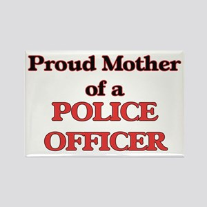 Proud Mother of a Police Officer Magnets