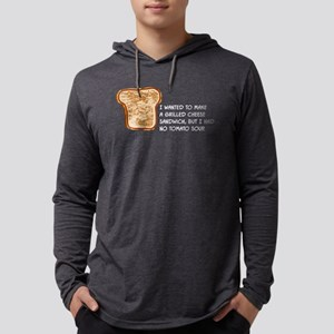 Grilled Cheese Long Sleeve T-Shirt