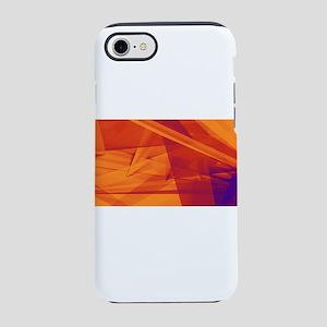 Orange Purple Abst iPhone 8/7 Tough Case
