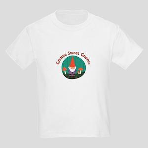 Gnome Sweet Gnome Kids Light T-Shirt