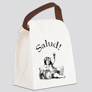 Salud Spanish Toast Canvas Lunch Bag