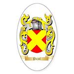 Pujol Sticker (Oval 50 pk)