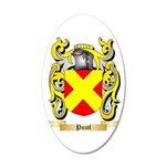 Pujol 20x12 Oval Wall Decal