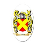 Pujol 35x21 Oval Wall Decal