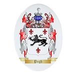 Pugh Oval Ornament