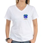 Puentes Women's V-Neck T-Shirt