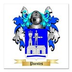 Puentes Square Car Magnet 3
