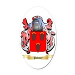 Pudney Oval Car Magnet