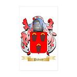 Pudney Sticker (Rectangle 50 pk)