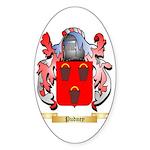 Pudney Sticker (Oval 50 pk)